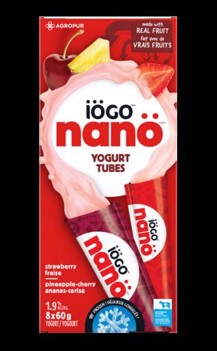 Image sur Iogo Zip tube Fraise,Anana,Cerise